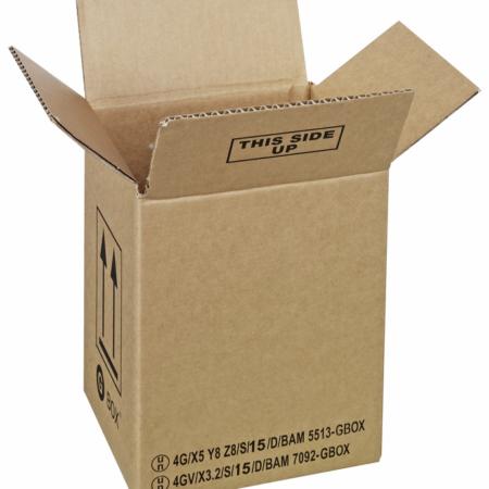 GBOX Standard 4G Gefahrgutkarton 91751. UN Gefahrgutverpackungen 175 x 115 x 213 mm von ALEX BREUER im Onlineshop kaufen