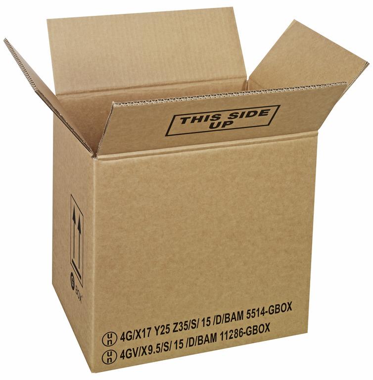 GBOX Standard 4G Gefahrgutkarton 93252. Gefahrgutverpackungen 325 x 245 x 300 mm von ALEX BREUER im Onlineshop kaufen