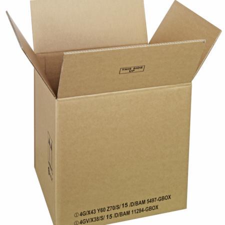 GBOX Standard UN Gefahrgutkarton 93686. Gefahrgutverpackungen / Industrieverpackungen von ALEX BREUER im Onlineshop kaufen