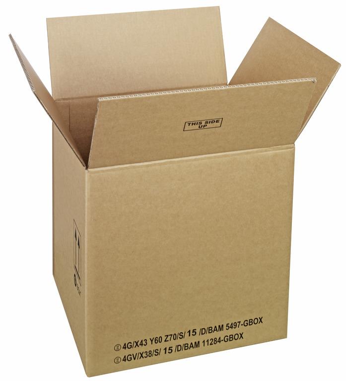 GBOX Standard UN Gefahrgutkarton 93686. Gefahrgutverpackungen 430 x 380 x 420 mm von ALEX BREUER im Onlineshop kaufen