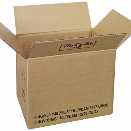 GBOX Standard Gefahrgutkartons 93852. Gefahrgutverpackungen / Industrieverpackungen von ALEX BREUER im Onlineshop kaufen