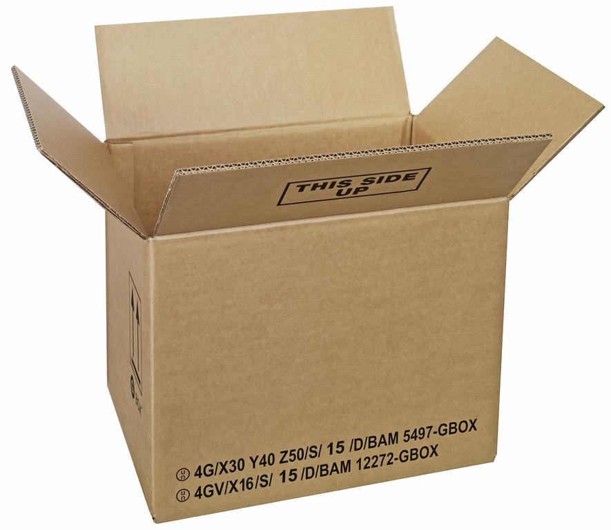 GBOX Standard Gefahrgutkartons 93852. Gefahrgutverpackungen 385 x 285 x 300 mm von ALEX BREUER im Onlineshop kaufen