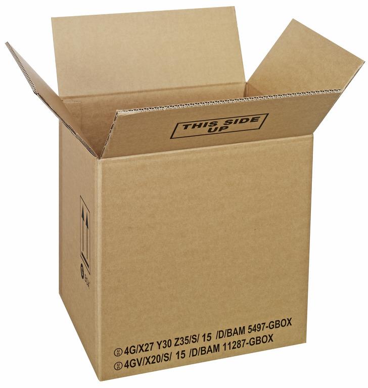 GBOX Standard 4G Gefahrgutkartons 93986. UN-Gefahrgutverpackungen / Industrieverpackungen von ALEX BREUER im Onlineshop