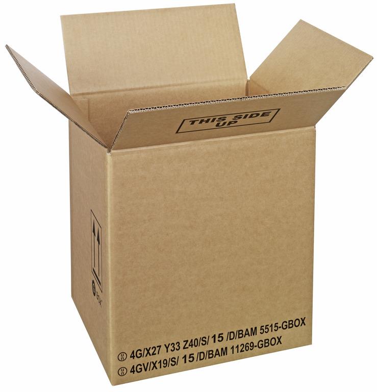 GBOX Standard Gefahrgutkartons 94186. UN-Gefahrgutverpackungen 330 x 290 x 360 mm von ALEX BREUER im Onlineshop