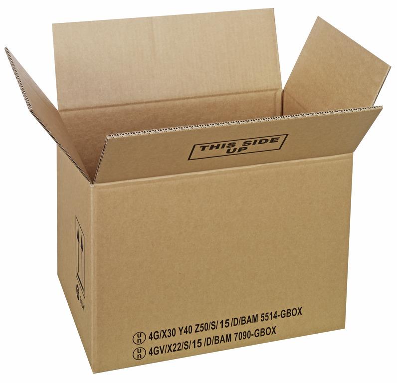 GBOX Standard 4G Gefahrgutkartons 94286. Gefahrgutverpackungen 430 x 310 x 300 mm von ALEX BREUER im Onlineshop kaufen