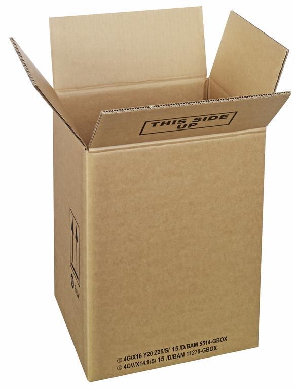 GBOX Standard 4G Gefahrgutkartons 94386. Gefahrgutverpackungen 300 x 270 x 390 mm von ALEX BREUER im Onlineshop