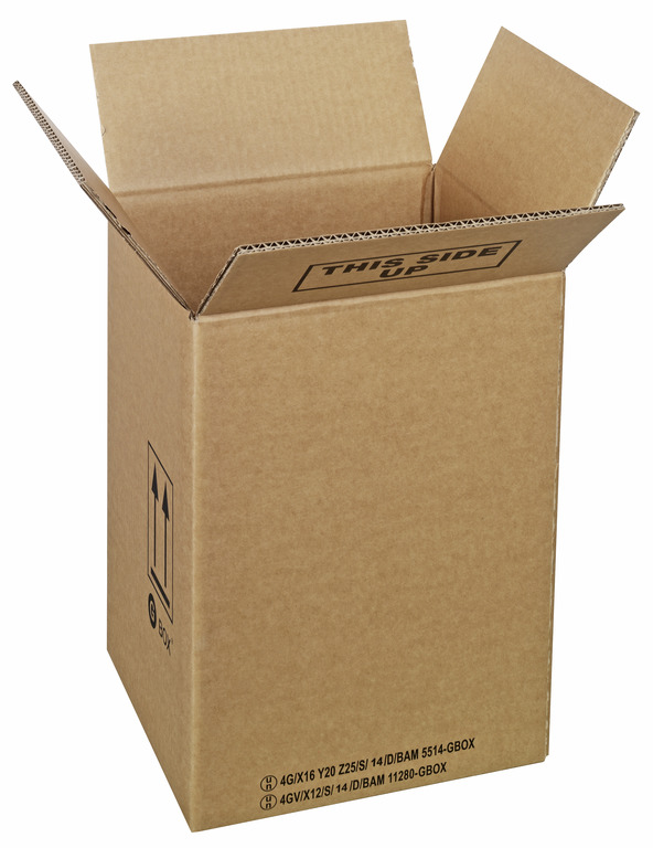 94486 GBOX Standard 4G Gefahrgutkartons. Gefahrgutverpackungen 270 x 250 x 370 mm von ALEX BREUER