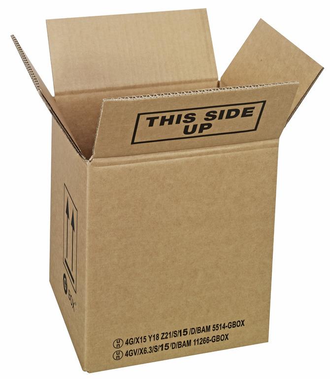 94686 GBOX 4G Gefahrgutkarton. Gefahrgutverpackungen 230 x 200 x 250 mm von ALEX BREUER