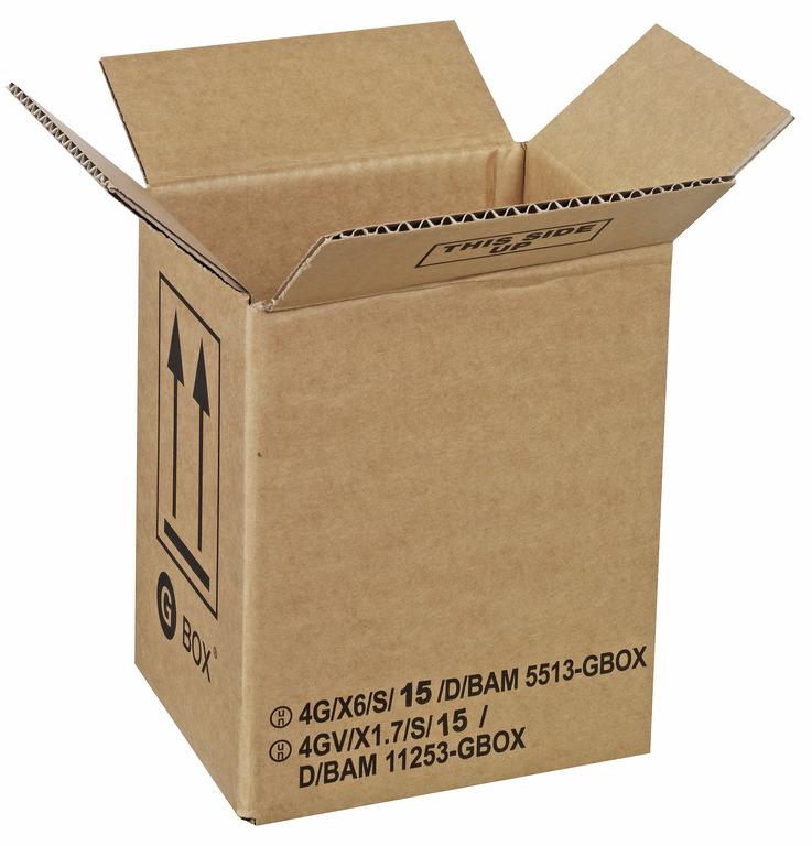 94986 GBOX 4G Gefahrgutkarton. Gefahrgutverpackungen 160 x 135 x 190 mm im Onlineshop kaufen