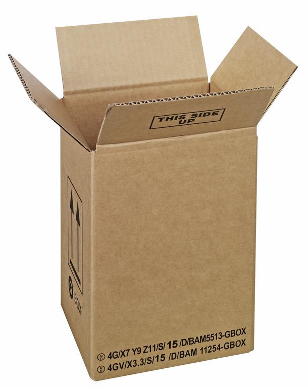 95086 GBOX Standard 4G Gefahrgutkarton. Die Gefahrgutverpackung / Industrieverpackung von ALEX BREUER im Onlineshop kaufen