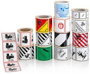 GBOX Gefahrgutetiketten auf Rolle für Gefahrgutverpackungen / Industrieverpackungen von ALEX BREUER im Onlineshop kaufen