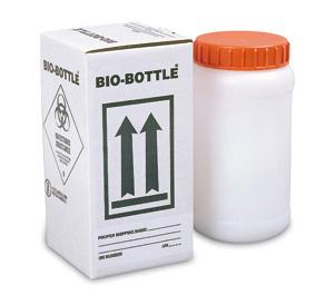 GBOX Bio-Bottle2 für den Versand bei Gefahrgutklasse 6.2 - Gefahrgutverpackungen / Industrieverpackungen von ALEX BREUER im Onlineshop