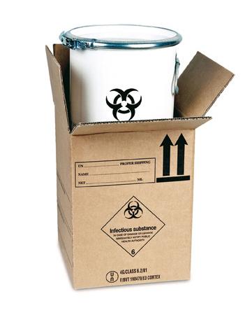 GBOX - Gefahrgutverpackung Biotainer 12l