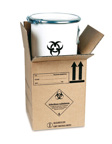 GBOX Biotainer. Set für den Transport gefährlicher Stoffe bei Gefahrgutklasse 6.2 - Gefahrgutverpackungen / Industrieverpackungen im Onlineshop