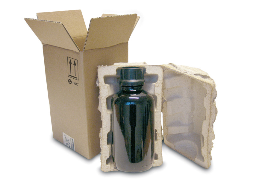 gbox extra gefahrgutverpackung f r 1x1 liter glasflasche komplettverpackungen gefahrgut. Black Bedroom Furniture Sets. Home Design Ideas