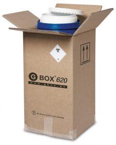 GBOX 620. Set für den Transport gefährlicher Stoffe Gefahrgutklasse 6.2 - Gefahrgutverpackungen / Industrieverpackungen im Onlineshop