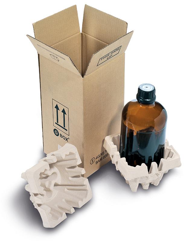 GBOX Plus - 4G Gefahrgutkarton Flasche 1 x 2,5 Liter