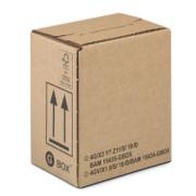 GBOX EASY PACK Gefahrgutverpackung mit Automatikboden und Selbstklebeverschluß