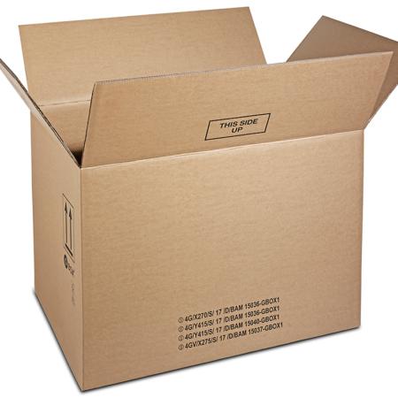 99168 GBOX 4G Gefahrgutkarton Groß. Gefahrgutverpackungen / Industrieverpackungen jetzt kaufen > Warenkorb
