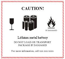Gefahrgutetiketten / Gefahrgutaufkleber Versand LITHIUMBATTERIEN. Für Kennzeichnung von Gefahrgutverpackungen > ALEX BREUER Onlineshop