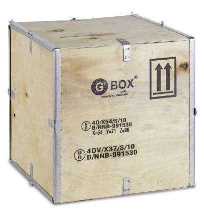 GBOX 4D / 4DV Sperrholzkiste Gefahrgutverpackungen / Industrieverpackungen von ALEX BREUER kaufen
