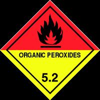 Gefahrgutetiketten / Gefahrgutaufkleber ORGANIC PEROXIDES Gefahrgutklasse 5.2. Für Kennzeichnung von GBOX Gefahrgutverpackungen > ALEX BREUER Onlineshop