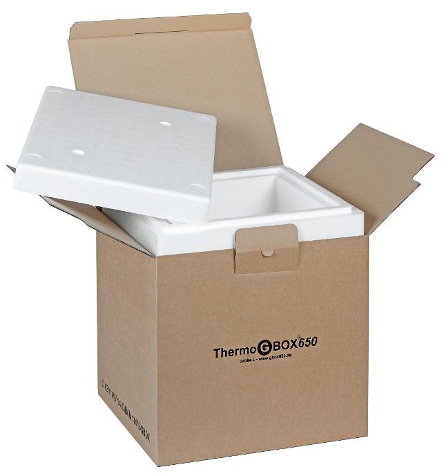 THERMO GBOX 650. Gefahrgutkarton L / Isolierverpackung für den Versand gefährlicher Stoffe Gefahrgutklasse 6.2 - Gefahrgutverpackungen / Industrieverpackungen im Onlineshop kaufen