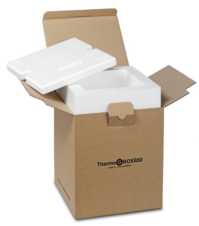 THERMO GBOX 650. Gefahrgutkarton S / Isolierverpackung für den Versand gefährlicher Stoffe Gefahrgutklasse 6.2 - Gefahrgutverpackungen / Industrieverpackungen im Onlineshop kaufen