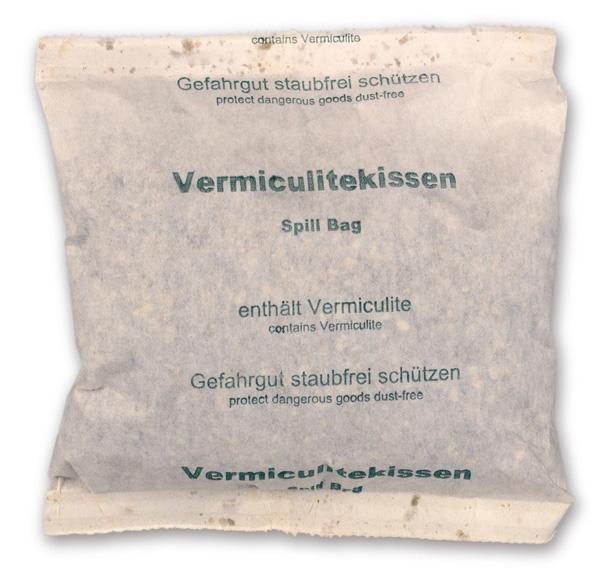 Vermiculit© Kissen / Absorbtionsmaterial für Gefahrgutverpackungen / Gefahrgutkartons by ALEX BREUER