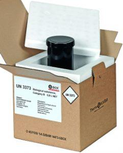 UN 3373 THERMO GBOX 650. Gefahrgutkarton als Isolierverpackung für den thermisch kontrollierten Transport von gefährlichen Stoffe Gefahrgutklasse 6.2 - Gefahrgutverpackungen / Industrieverpackungen im Onlineshop kaufen