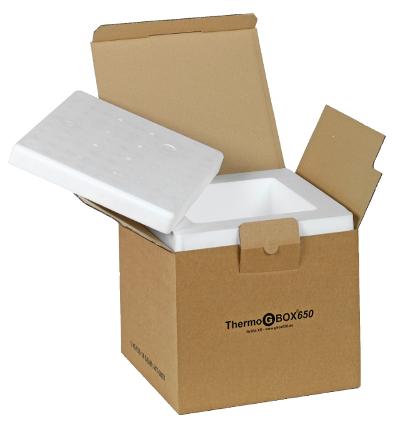 THERMO GBOX 650. Gefahrgutkarton / Isolierverpackung für den Versand gefährlicher Stoffe Gefahrgutklasse 6.2 - Gefahrgutverpackungen / Industrieverpackungen im Onlineshop kaufen