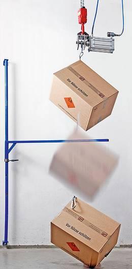 GBOX Fallprüfung Gefahrgutverpackungen / Industrieverpackungen