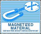 Gefahrgutetiketten / Gefahrgutaufkleber / Gefahrzettel MAGNATIZED MATERIAL. Für Kennzeichnung von Gefahrgutverpackungen > ALEX BREUER Onlineshop