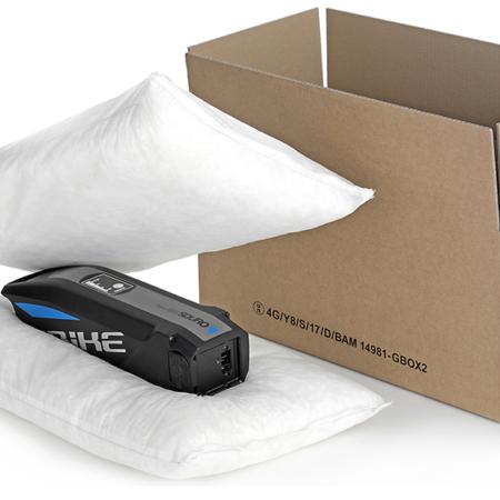 CIRRUX + GBOX 4G Gefahrgutkarton – Gefahrgutverpackungen / Industrieverpackungen für Lithiumbatterien mit Polstermaterial von ALEX BREUER im Onlineshop kaufen