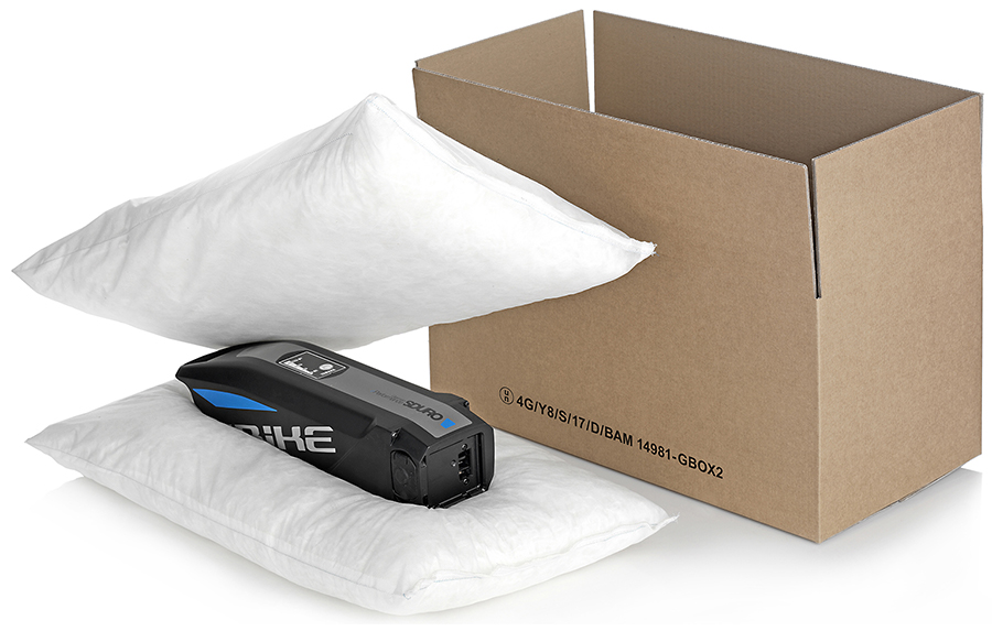 GBOX Batterie Verpackung