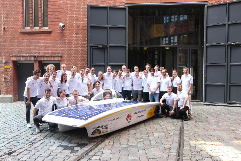 ALEX BREUER Gefahrgutverpackungen / Lithiumbatterien – Sponsor Projekt Sonnenwagen RWTH Aachen bei Bridgestone World Solar Challenge