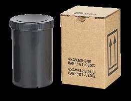 9GBOXUNI Gefahrgutkarton mit 4G und 4GV Zulassung mit Kunststoffdose