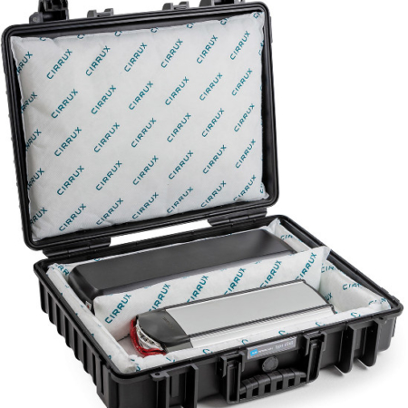 Koffer Transport Lithiumbatterien